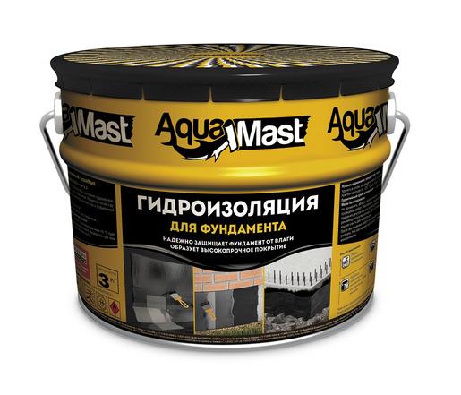 Гидроизоляция для фундаментов битумная aquamast 18кг сделайте наливной пол